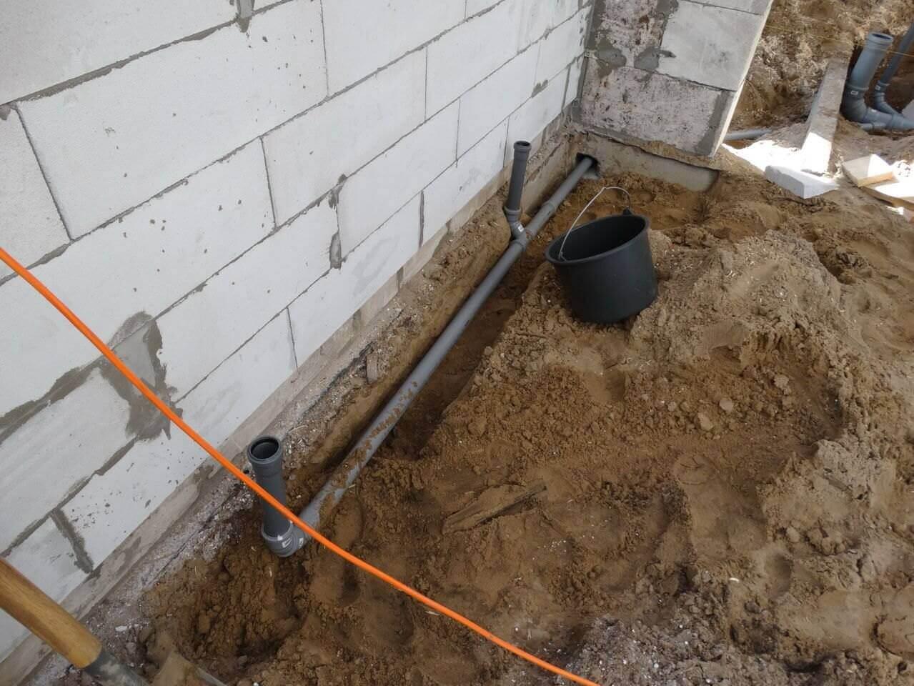 Частный дом канализация своими руками из покрышки фото 130