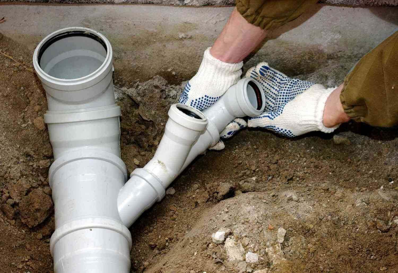Укладка канализации в доме своими руками 143