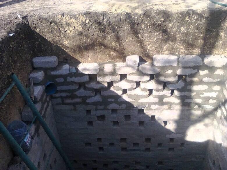 Дренажная яма для канализации