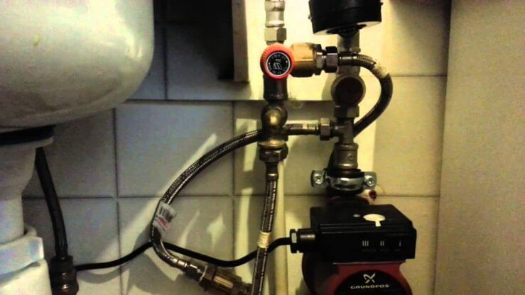 Підвищувальні насоси для холодного водопостачання