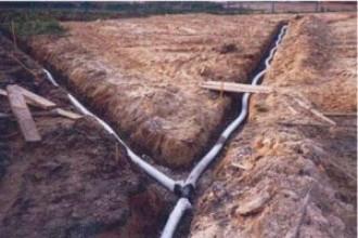 Как сделать дренаж участка на глинистых почвах своими руками