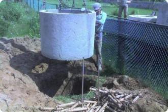 Обустройство канализации  и сливной ямы частного домовладения