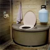 Торфяной биотуалет – комфорт для приусадебного участка