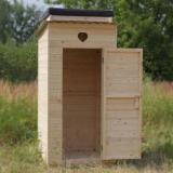 Строительство уличного туалета на даче